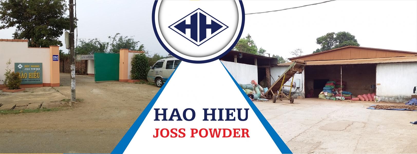 Nhà máy sản xuất bột nhang Hào Hiếu