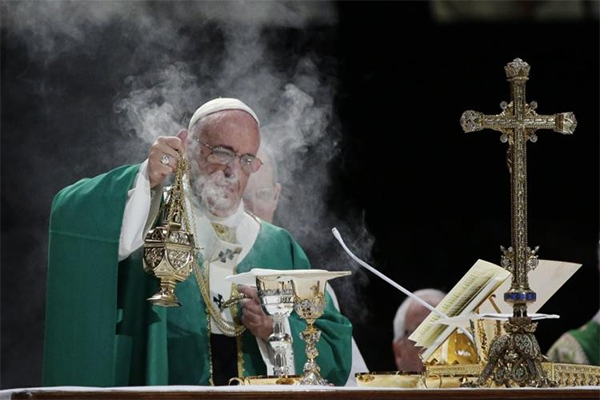 The history of incense and why it's used at Mass
